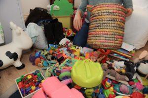 tri jouets jeux enfant bébé kondo trier ranger