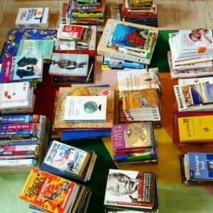 livres tri home organizing