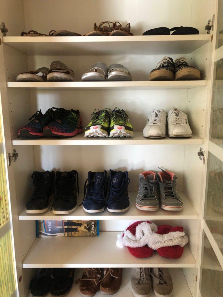 Après chaussures